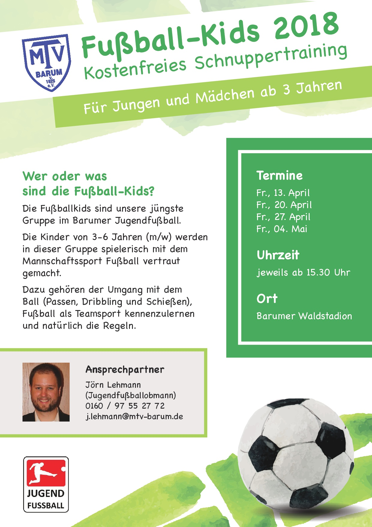 20180313 Plakat Fussball Kids